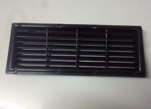 Caravan-or-motorhome-recessed-black-plastic-fridge-air-vent-375mm-by-150mm-FVC3