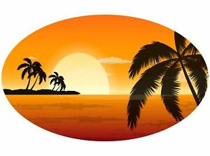Motor-home-Caravan-Camper-Horse-box-Sunset-Stickers-Mural-Decal-Graphic-mh1-137