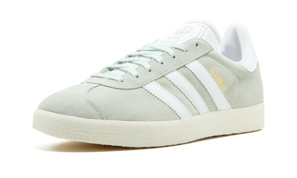 Adidas Originals Da Uomo Gazelle BZ0023 lino verde, terrazze in in in Pelle Scamosciata Taglie UK elencati 292087