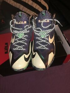 Nike Lebron XI 11 Gator King All Star Gumbo Mens Basketball Shoes  e3ceb66e4