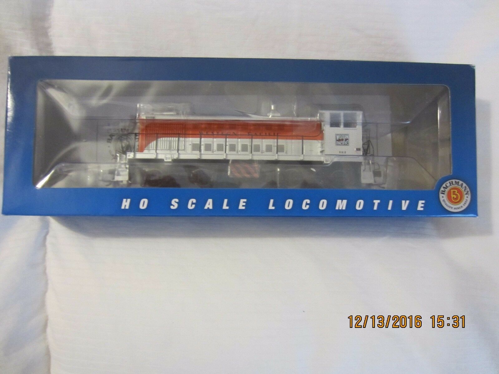 BACHMANN  HO Western Pacific  ALCO S2 Diesel DCC READY NEW IN BOX