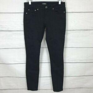 Strom Tio Tobillo Skinny Jeans Puma Negro Talla 28 Pantalones De Mezclilla Mediados De Subida Ebay