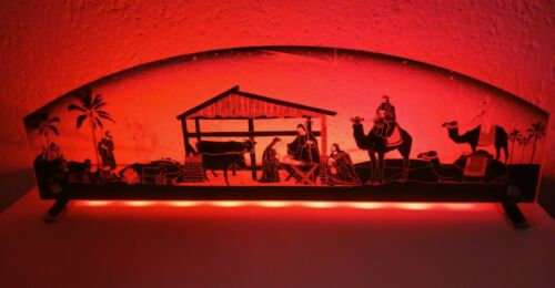 Energieklasse A++ Dekorative LED-Weihnachtskrippe Krippe LED-Leuchte