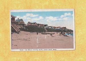 MA-Ocean-Bluff-1908-29-vintage-postcard-HOMES-LOOKING-NORTH-Mass