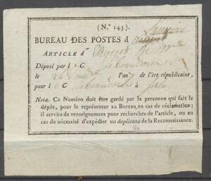 1799-Cote-du-Nord-Recu-des-postes-Superbe-X1401