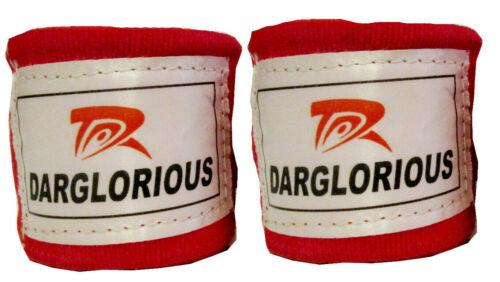Hand Wraps Boxe MMA Muay Thai BENDA PUGNO Protettore cinghie interne Guanti 4m