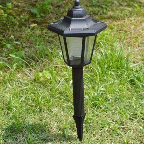 Auto Outdoor Garden LED Solar Power Path Cited Light Landscape Lamp Post Lawn UK