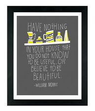 Inspirational Quote Print Poster For Frames Walls Home Interior A4