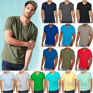 10e341b265fc Details about NEW Next Level Men's Premium Fit Sueded V-Neck T-Shirt XS ,S,M,L,XL,2XL Tee 6440