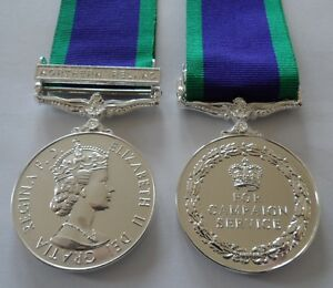 GSM-Northern-Ireland-Full-Size-Medal-GSM-Military-Ribbon-Replacement-Army