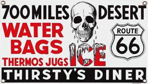 Route-66-Thirstys-Diner-Steel-Fridge-Magnet-ar