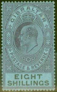 Gibraltar-1903-8s-Dull-Purple-amp-Black-Blue-SG54-Fine-amp-Fresh-Lightly-Mtd-Mint