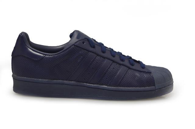 Adidas Originals Superstar Unisex Trainers Shoes - BB4267 - Dark Blue