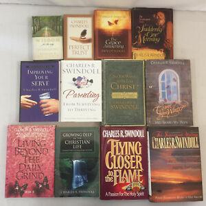 Charles R Swindoll Books Perfect Trust Grace Awakening Parenting Lot Of 12 Ebay