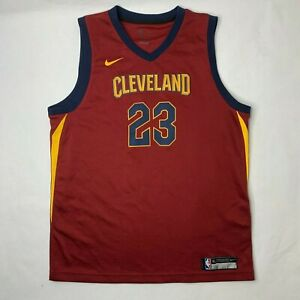 best sneakers 63033 cea4a Details about Lebron James Nike Icon Mens Size XL Cavaliers Basketball  Swingman Jersey D