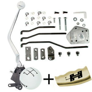Details about HURST 4 Speed Shifter kit 1965-73 Ford Mustang Mercury Cougar  SB Top Loader 432