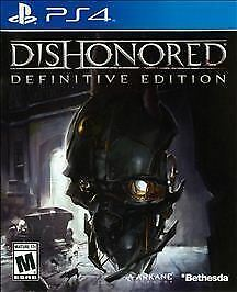 PS4 DISHONORED: DEFINITIVE EDITION 2015 REKEASE BRADN NEW FACTORY SEALED