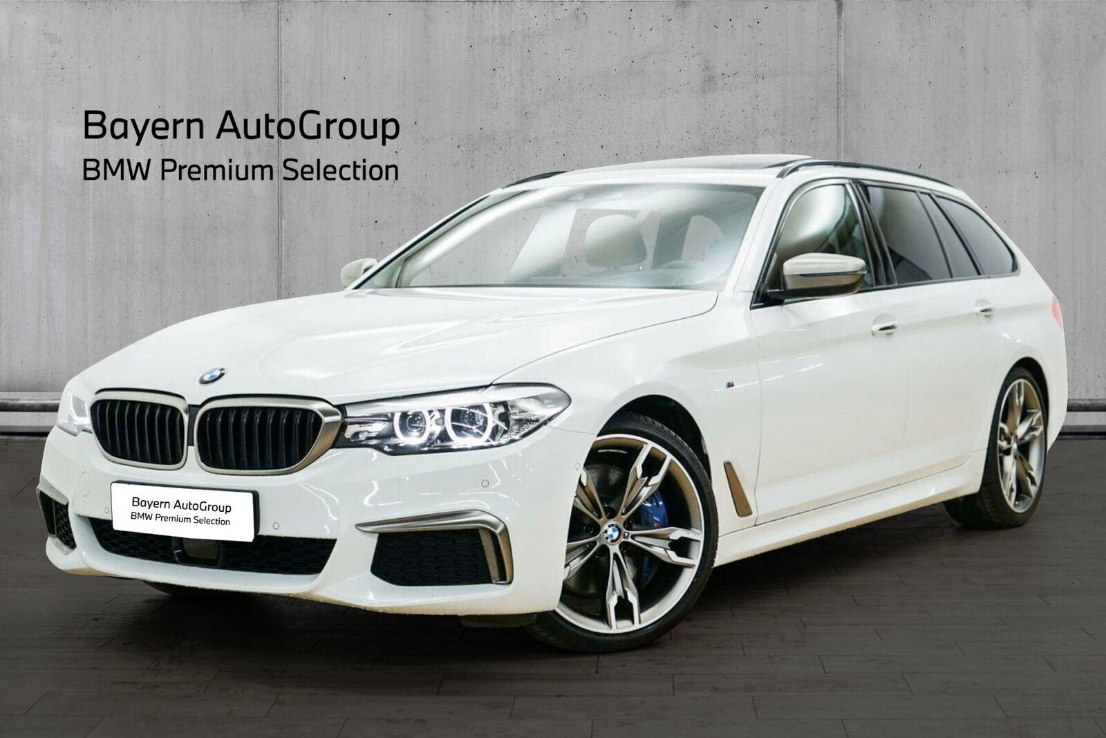 BMW M550d 3,0 Touring xDrive aut. 5d - 5.995 kr.