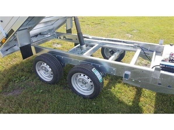 Trailer Tipper 2515 2000 kg med el tip, lastevne (kg): 2000