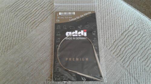 addi premium circular knitting needles size 30 cm//5,0mm new sealed freepost