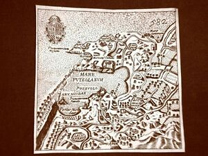 Pozzuoli-Incisione-all-039-acquaforte-del-1665-Nova-descrittione-di-Francesco-Scoto