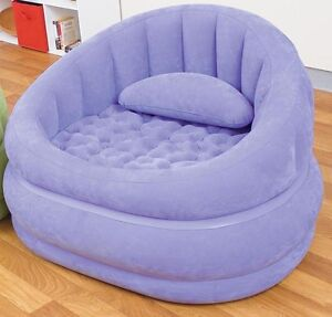 Violett Intex Lifestyle Aufblasbarer Sessel Cafe Chair Ebay