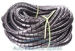 WIRING LOOM protection spiral cable binding 5mm 15mm x 1mt