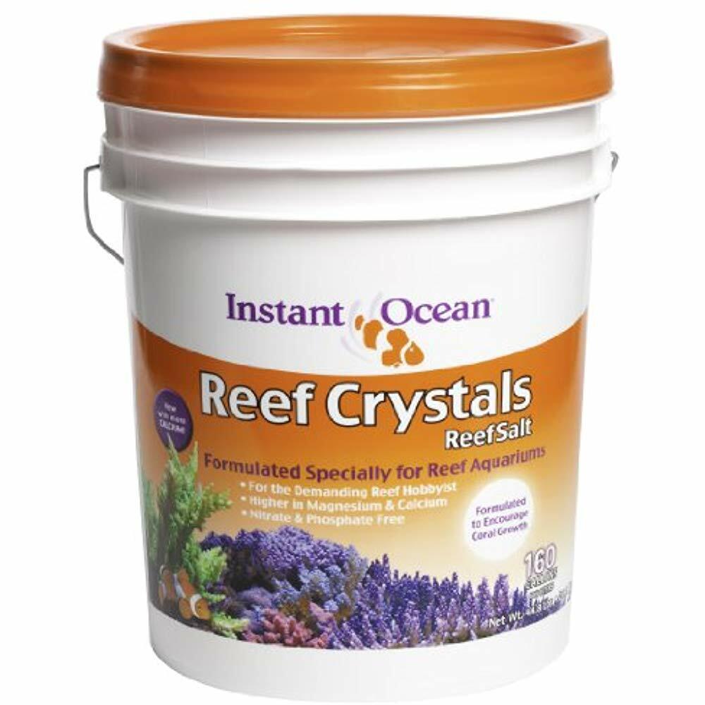 Instant Ocean Aquarium Water Treatments Reef Crystals Salt For Aquariums Else