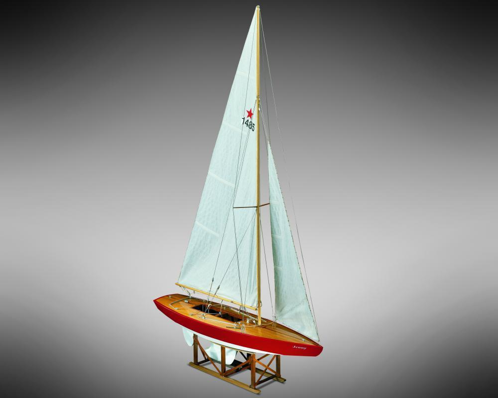Mamoli Jenny Star Class Yacht 1 12 MV54 Model Boat Kit