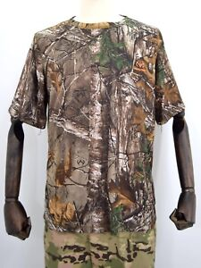 Realtree-Xtra-Thsirt-Deerhunter-Camouflage-Camo-Lightweight-Fishing-T-Shirt
