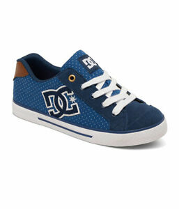 DC-SHOES-CHELSEA-SE-BLUE-BROWN-WHITE-XBCW-SCARPE-SKATE-SHOES-SNEAKERS