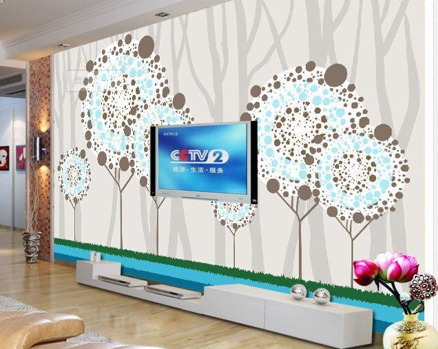 3D fiori Blau 46 Parete Murale Carta da parati immagine sfondo muro stampa