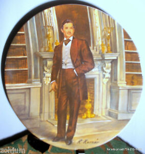 Gone With The Wind Collector Plate 1981 Knowles RHETT #4