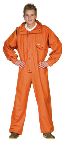 orange/oliv/gelb/marine PVC Overall Comfort stretch OCEAN Ölzeug