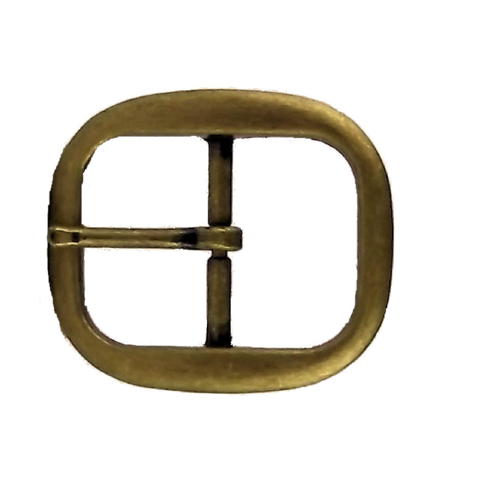 "Antique Brass Finish 1640-09 1.25/"" Wave Buckle 3.2 cm"