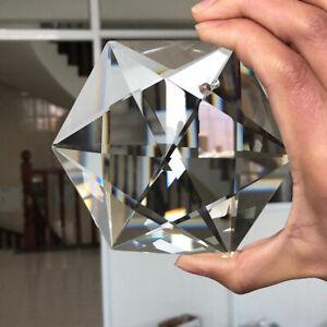100mm-CRYSTAL-Lamp-Prisms-Chandelier-Hanging-Pendant-Decor-SUNCATCHER