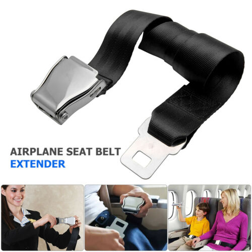 Commercial Plane Aircraft Airplane Airline Seat Belt Extension Extender Buckle