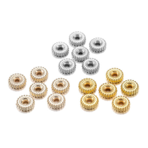 200pc 8mm Bracelet  Loose Spacer Beads Jewelry Making Supplies DIY Accessories