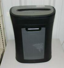 New Listingroyal Paper Shredder Black Hg12x With Waste Basket Tested