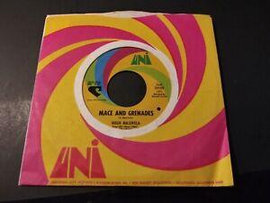 Hugh Masekela - Mace And Grenades VG++ Original 45 RPM UNI Record 1969 Soul Jazz