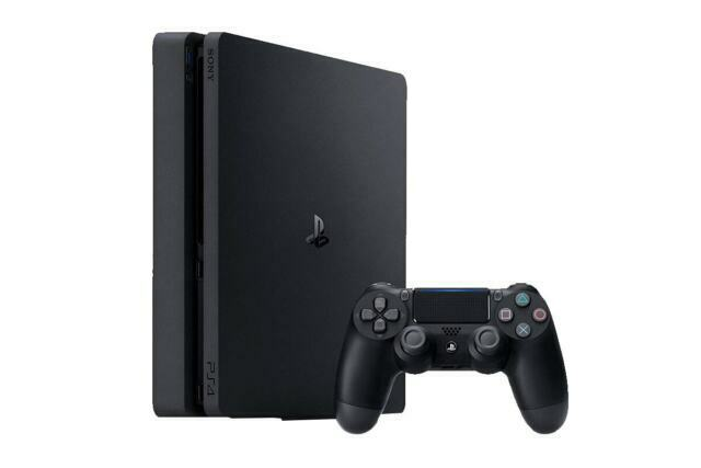 PS4 500GB Slim Console HDR Jet Black (Model CUH 2202A B01) (NEW)