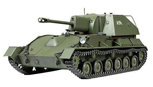 TAMIYA 1 35 Russian Self-Propelled Gun SU-76M Model Kit NEW from Japan