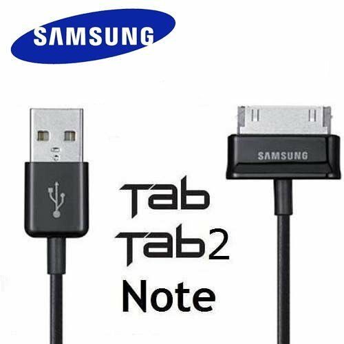 Genuine samsung Galaxy Tab 2 7.010.1 inch tablet data USB cable charger and SYC