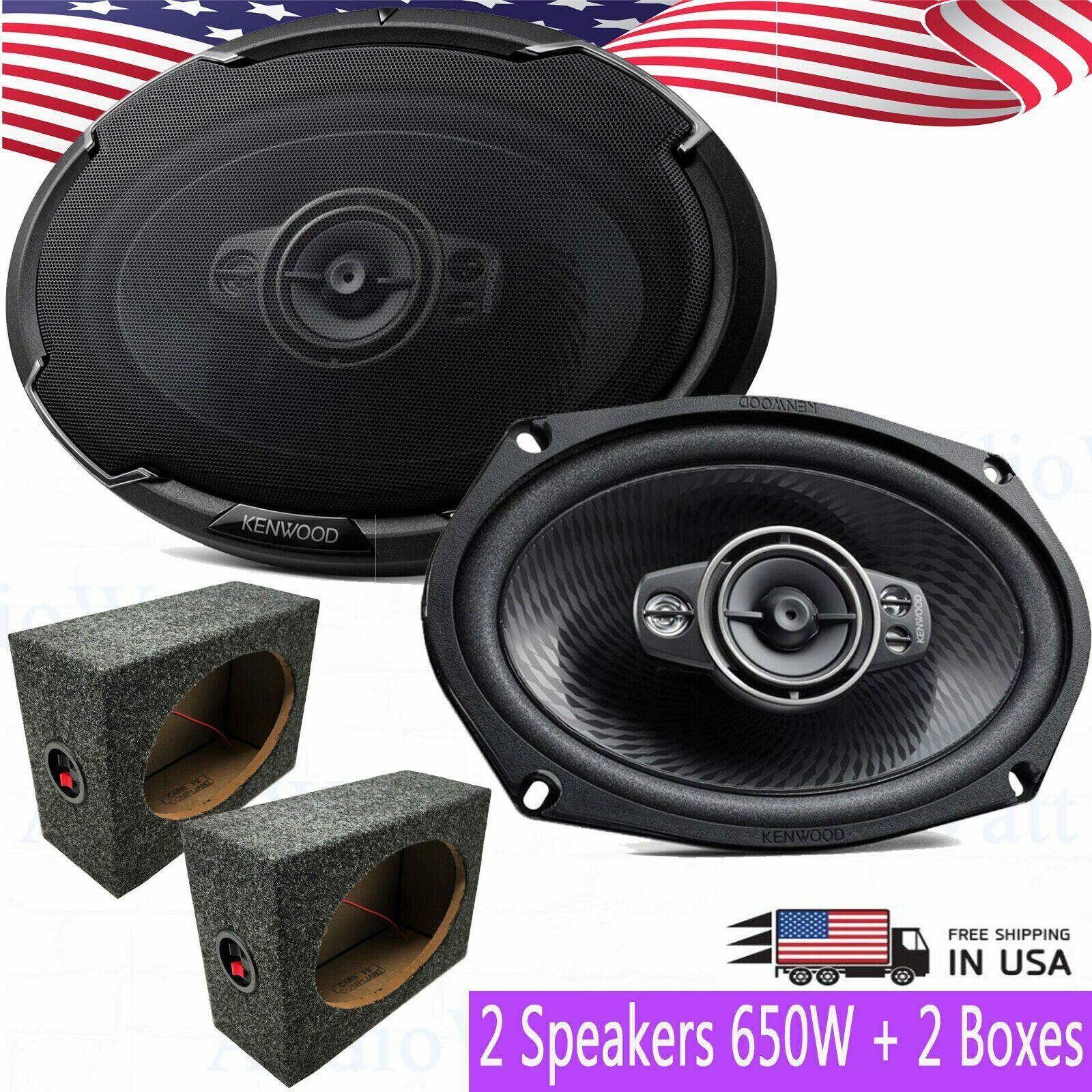 Kenwood KFC-6996PS 6x9 5 Way Car Speakers 650W Maximum Power Handling