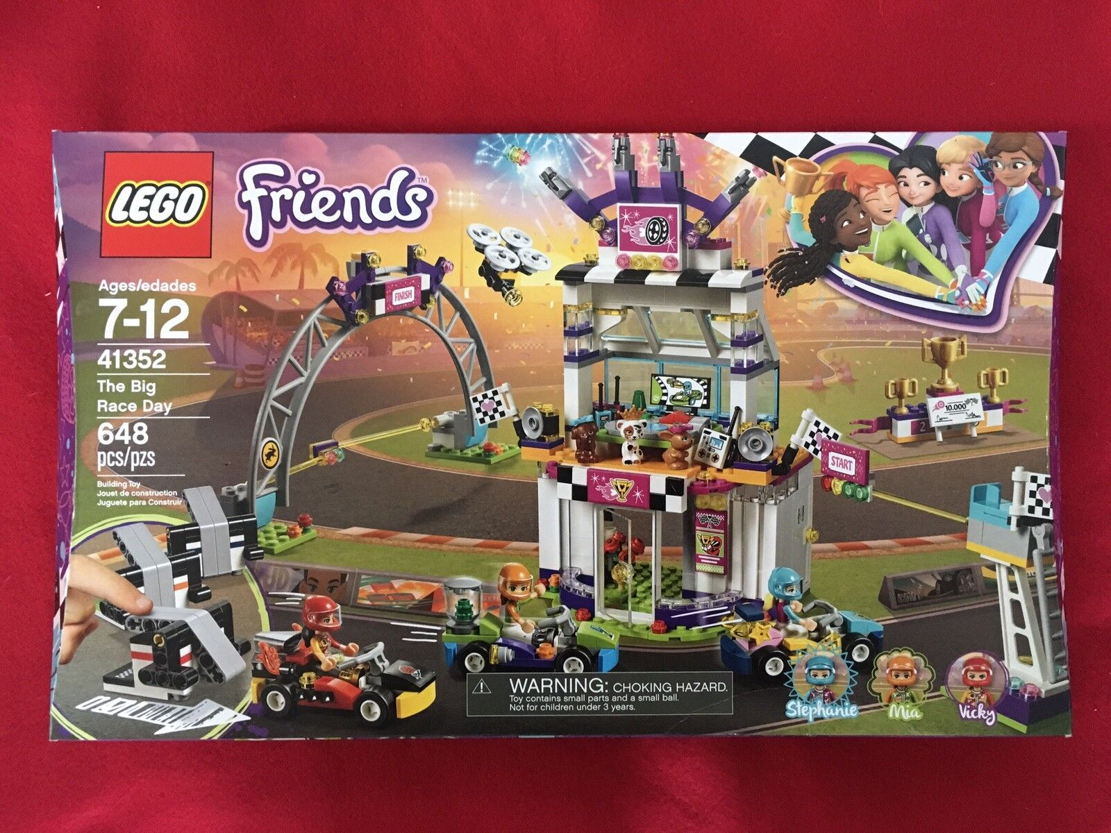Lego: Friends - The Big Race Day (41352) NEW!