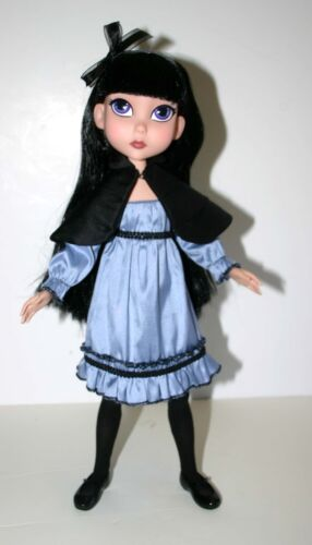 "Moody /& Blue Doll Clothes Sewing Pattern 15.25/"" Maudlynne  LittleMissMatched"