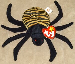 Ty Beanie Babies Spinner The Spider 5 Bugs And Insects