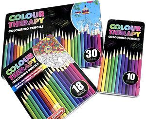 Couleur Thérapie artiste Qualité Licorne crayons 10 pièces BACK TO SCHOOL