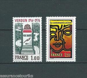 FRANCE-1976-YT-1883-a-1884-TIMBRES-NEUFS-LUXE