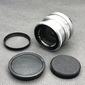 Carl Zeiss Jena Biotar 1:2 f=5,8cm 2/58 2/5,8 Red T for Exakta TESTED
